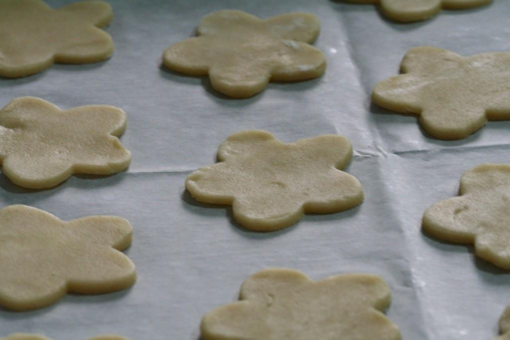 מכאן הדרך של עוגיות החמאה לתנור קצרה