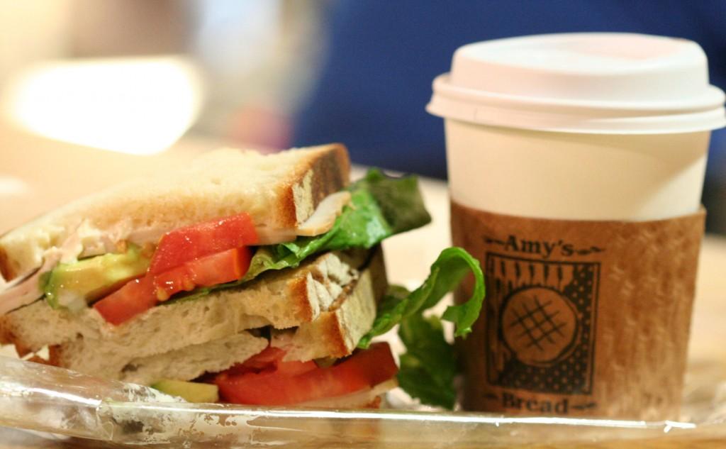 סנדוויץ' אחרון מ-Amy's Bread ודי