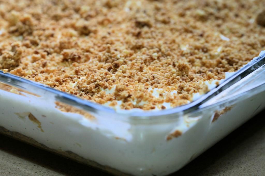 גם יפה וגם קלה: עוגת גבינה פירורים