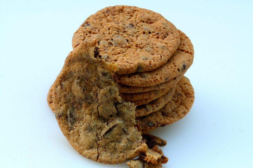 עוגיות השוקולד צ'יפס מוכנות